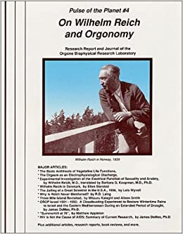Book On Wilhelm Reich and Orgonomy
