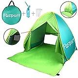 FBSPORT Beach Tent, UV Protection Pop Up Sun Shelter Lightweight Beach...