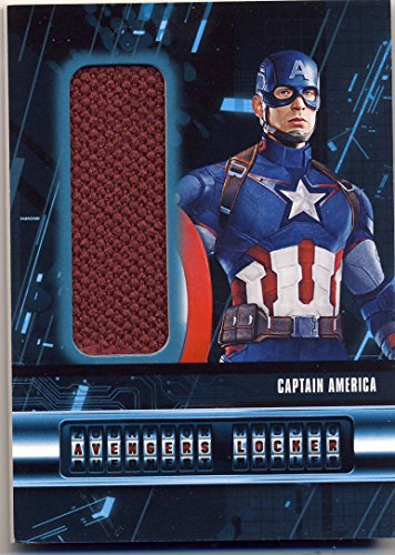 2015 Upper Deck UD Age of Ultron Trading Cards Avengers Locker Wardrobe/Costume Card AL-C Captain America