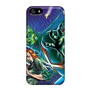 Premium Protection Martian Manhunter I4 Cases Covers For Iphone 5/5s- Retail Packaging
