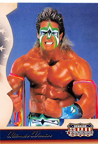 Ultimate Warrior trading card (Wrestler) 2007 Donruss Americana - Card Americana 2007 Donruss