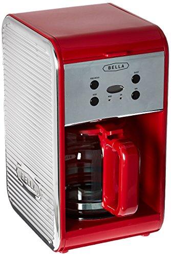red coffee maker bella - 3