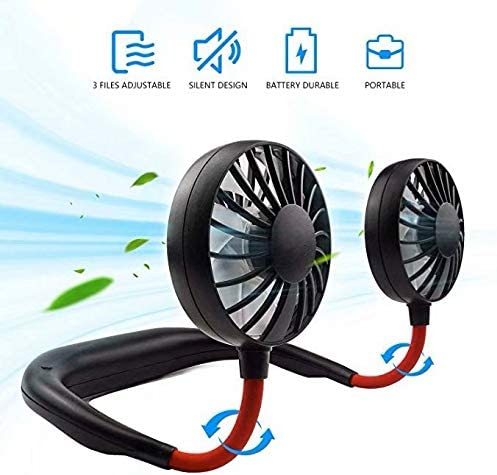 Portable Neck Fan Rechargeable Traveling