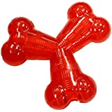 "Ethical Pets Play Strong Virtually Indestructible Dog Toy,  6-Inch, Rubber ""Y"""
