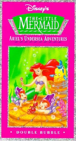Adventures Little Mermaid - Ariel's Undersea Adventures: Double Bubble [VHS]