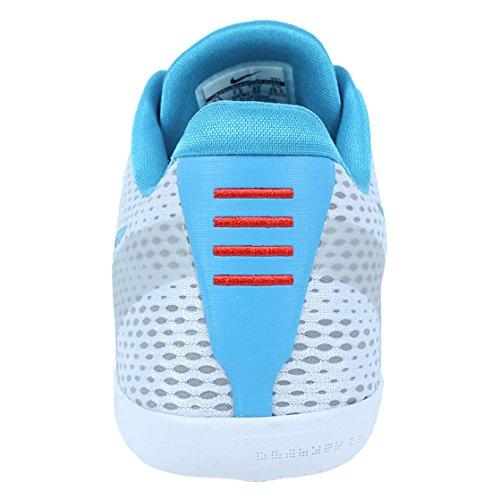 Nike Kobe Xi, Zapatillas de Baloncesto para Hombre Blanco (White / Court Purple-Blue Lagoon)