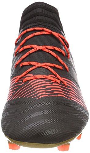 adidas Nemeziz 17.2 Fg, Scarpe da Calcio Uomo Nero (Cblack/Cblack/Solred Cblack/Cblack/Solred)