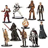Disney Store Star Wars: The Force Awakens 10 Deluxe Figurine Set