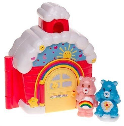 Care-a-lot Schoolhouse with Cheer Bear & Champ Care Bear]()