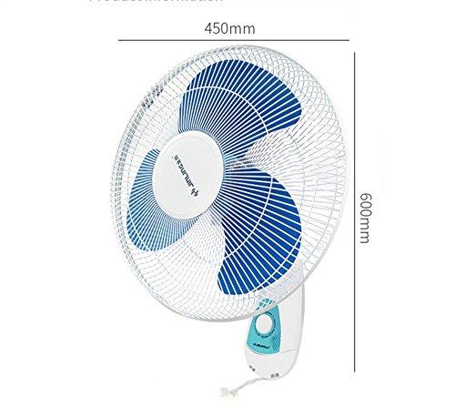 Desktop fan / home mute mini fan/manual wall fan / fan / wall-mounted energy-saving mute fan / mechanical fan / household fan / hanging fan by Wall fan (Image #1)