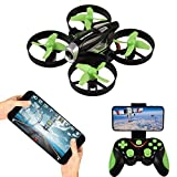 RC Quadcopter with HD Camera,APP Voice Control RC Drone with Altitude Hold, Gravity Sensor and Headless Mode RC Helicopter 2.4GHz 4 Channel 6 Axis Gyro