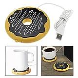OFKPO USB Powered Cup Mug Warmer Coffee Tea Beverage Heater Coaster Tray Pad