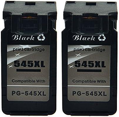 nineleaf 2 Pack PG-545 XL PG545 X L Compatible para Canon 545 x l ...