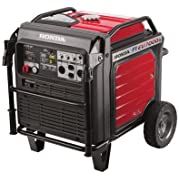 Honda 660270 7,000 Watt Super Quiet Portable Inverter Generator with Electric Start
