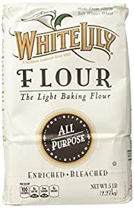 Amazon.com : White Lily All Purpose Flour - 80 oz - 2 pk