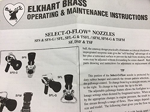 Elkhart Brass Select-O-Flow Nozzle Silver/Black by Elkhart Brass (Image #1)
