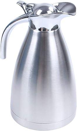 Thermo 1.5L espesar aislados al vacío cafetera de acero inoxidable Jarra Termo calor hervidor de agua, La Plata: Amazon.es: Hogar