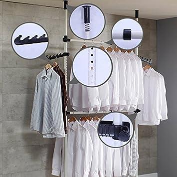 1plus Teleskop Garderoben Kleiderschrank System