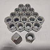 1 Set of 20 Chrome 14mm X 1.50 Wheel Lug Nuts fit 2003 Ford F-350 Super Duty May Fit OEM Rims, Buyer needs to review the spec