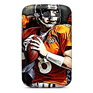 Shock Absorbent Hard Phone Case For Samsung Galaxy S3 (GrL16409Qesa) Provide Private Custom Colorful Denver Broncos Series