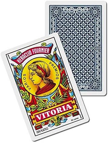 Fournier F35182 2100 Plastic Spanish Playing Cards