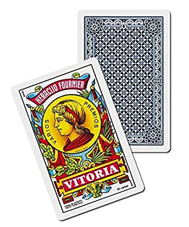 Fournier F35182 2100 Plastic Spanish Playing Cards