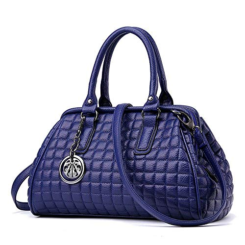 Moda Bandolera Mujer Bolso Tamaño Willsego 33x18x15cm Azul color Azul wF7vE5txq