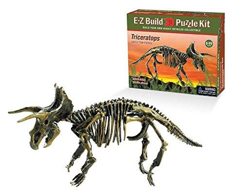 E-Z Build Puzzle - Triceratops Skeleton