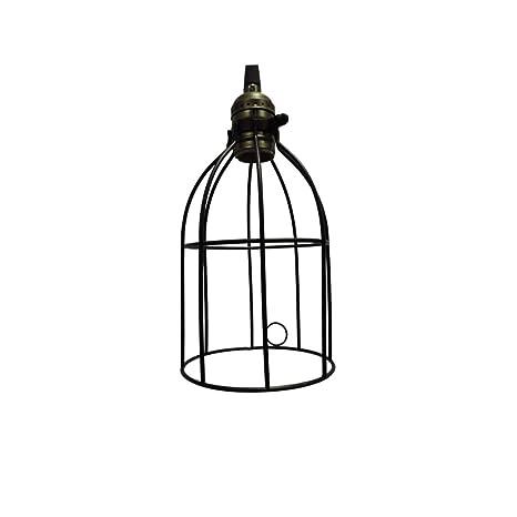 Amazon.com: Décor - Lámpara de techo con colgante de jaula ...