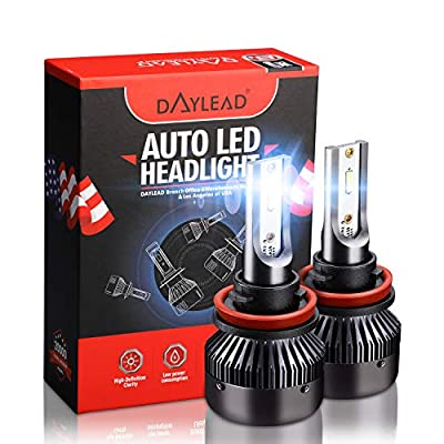 H11 LED Headlight BulbsH11 LED Headlight Bulbs Conversion Kit LED Light Bulb with Cooling Fan,12000LM 6500K Xenon White, Low Beam/Fog Light Bulb,Pack of 2: Automotive