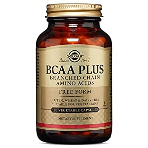 Solgar – BCAA (Branched Chain Amino Acids) 100 Vegetable Capsules