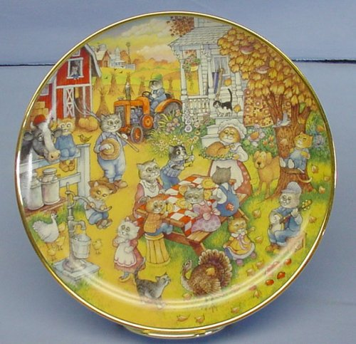 - Franklin Mint Collectible ''Purrfect Feast