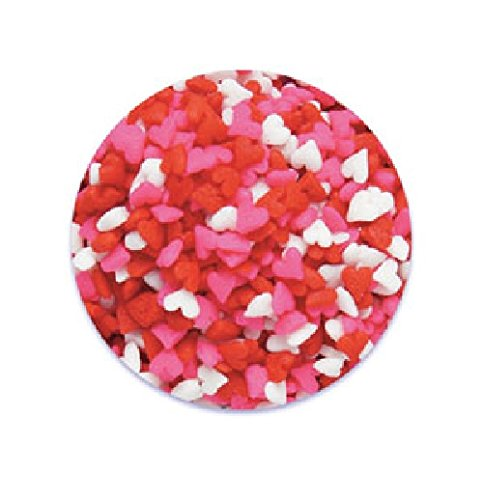 - Oasis Supply Pink, Red, and White Heart Quins - 8-Ounce