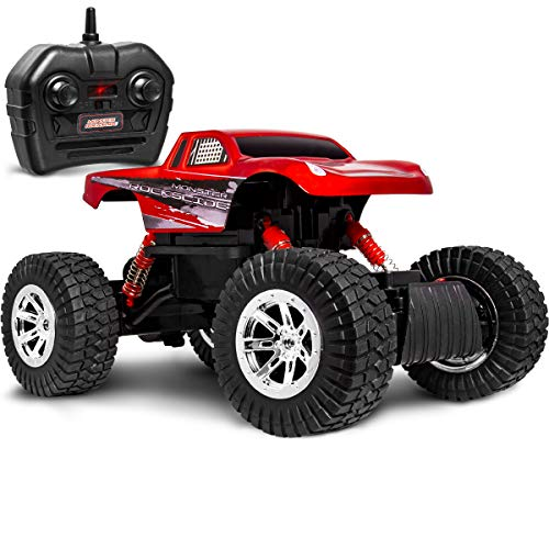 SHARPER IMAGE RC All Terrain Monster Rockslide Truck Now $9.50
