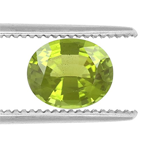 100%Natural Peridot Burma Oval 9.49 Carats TCW Fine Quality Gem By DVG by DVG Jewellery (Image #1)