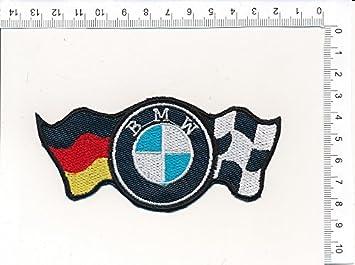 Écusson brodé Ecussons Thermocollants Broderie Sur Vetement Ecusson  quot   BMW Drapeaux quot  Logos F1, 4852506c26e
