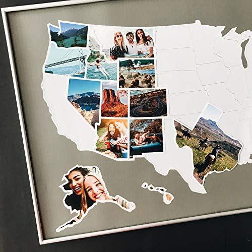 1DEA me USA Photo Map Flexible product image