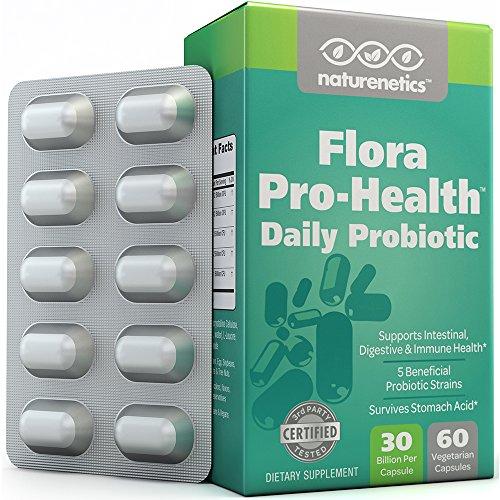 Double probiotiques Force - 70-100 milliards de CFU par capsule (en cours de fabrication) - 30 milliards garanti pour toute durée de conservation - Indépendamment Testé & vérifié - Résultats exceptionnels ou remboursé - Protection Puissance Emballage - Pa