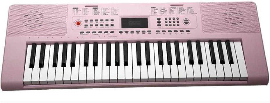 DLC Teclado Inteligente Rosa 61 Teclas de Piano para Niños ...