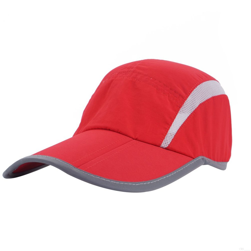 GADIEMKENSD UV Cap Hats Running Quick Drying Sports Hat Reflective Foldable  Running Cap Baseball Cap Outdoor 6cea67617409
