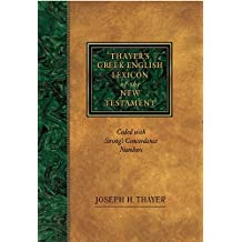 Thayer's Greek - English Lexicon Of The New Testament