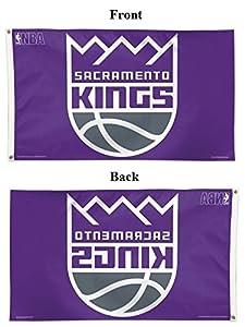 Sacramento Kings Flag NBA 3x5 New Logo Purple Large Banner