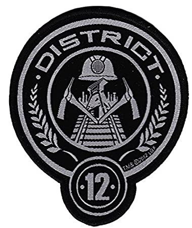 Amazon The Hunger Games District 12 Stitched 3 Patch