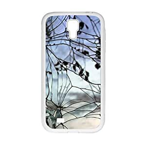 Cracked Glass With Branch Fashion Personalized Clear Cell Phone For Case Ipod Touch 5 Cover