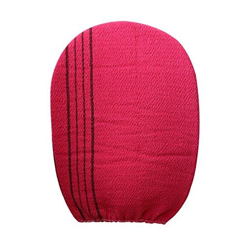 Korean Washcloths: Korean Exfoliating Bath Washcloth 3 Pcs (cherry Pink) By