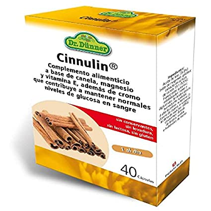 Cinnulin Dr.Dunner 40 cápsulas de Salus