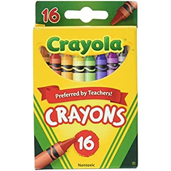 Crayola Classic Color Pack Crayons 16 ea