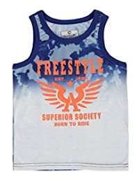 "Akademiks Little Boys' ""Superior Freestyle"" Tank Top"