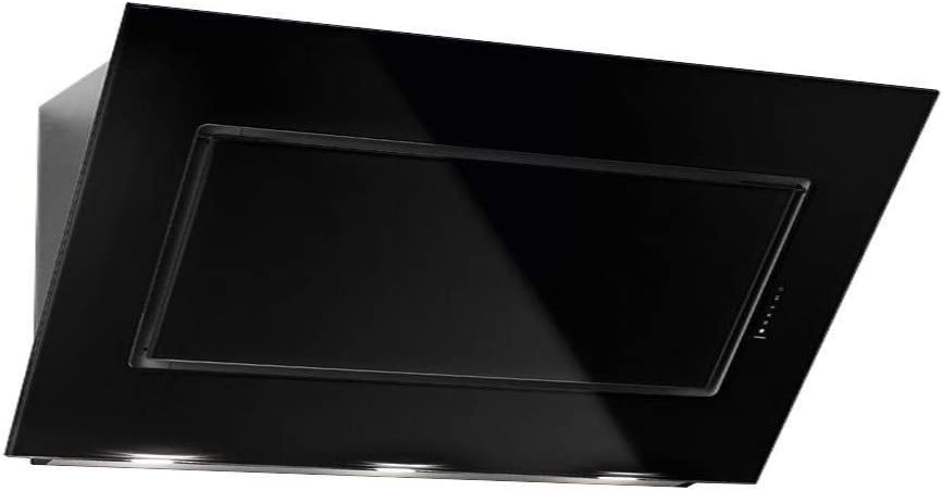 Falmec Quasar 120 cm color negro Campana extractora de pared