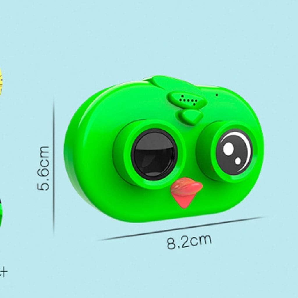 N/A XBSBS Kinder Kamera - Mini-Digitalkamera HD Kinder Kamera Geschenk der Kinder (5.6 * 8.2cm) (Color : Green) Green